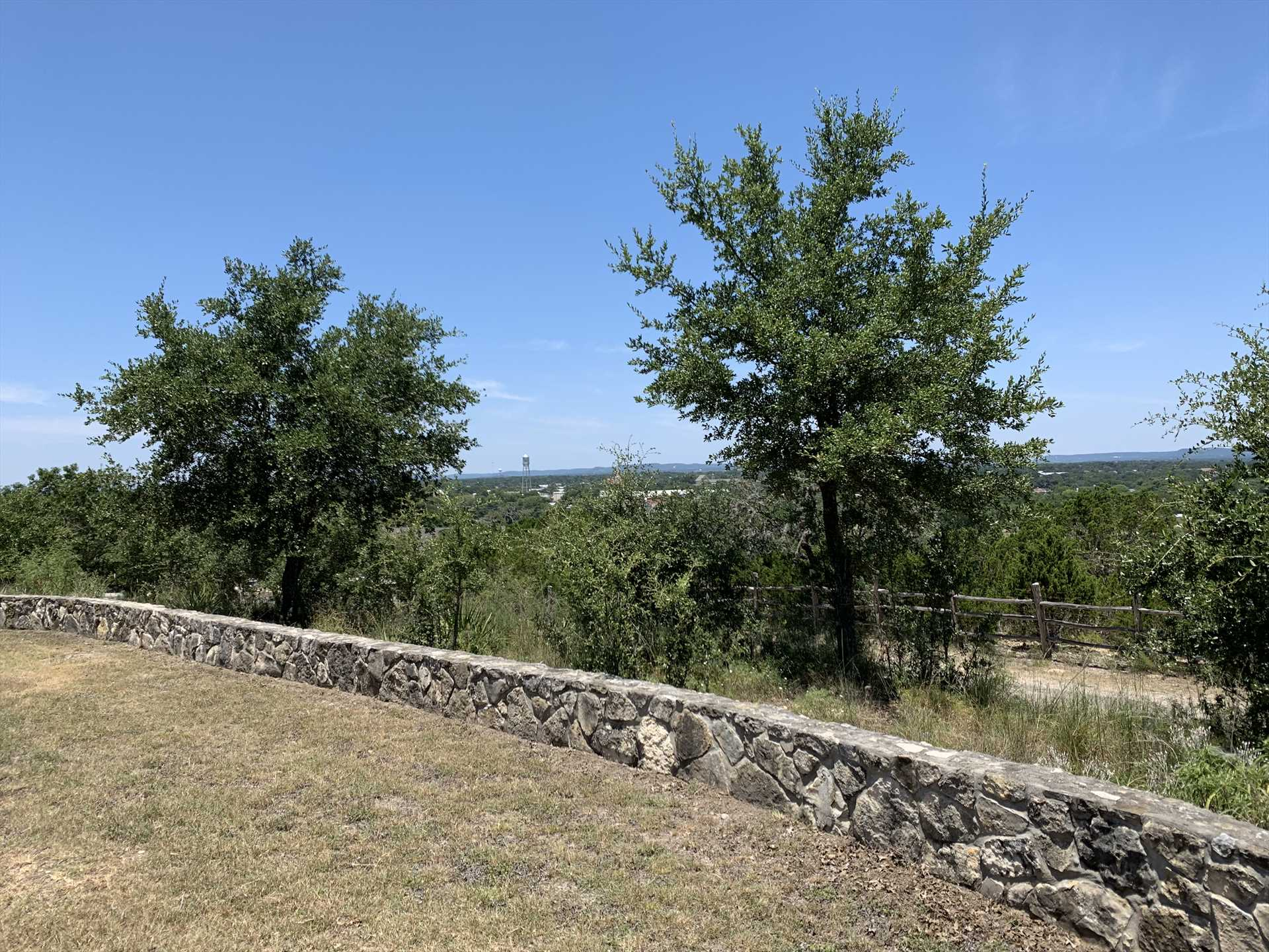 From your hilltop perch, you'll be treated to elevated views of both Bandera and the expansive Texas Hill Country!