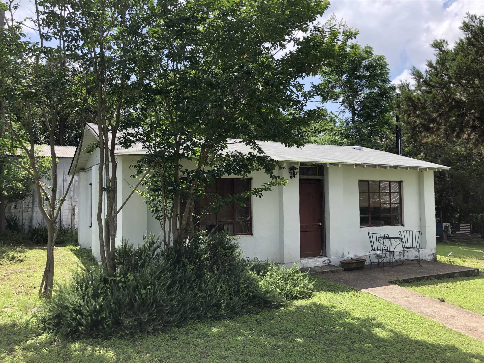If you've got a couple who'd like to come along, but would like a more private setting, ask us about renting the Casita on the grounds.