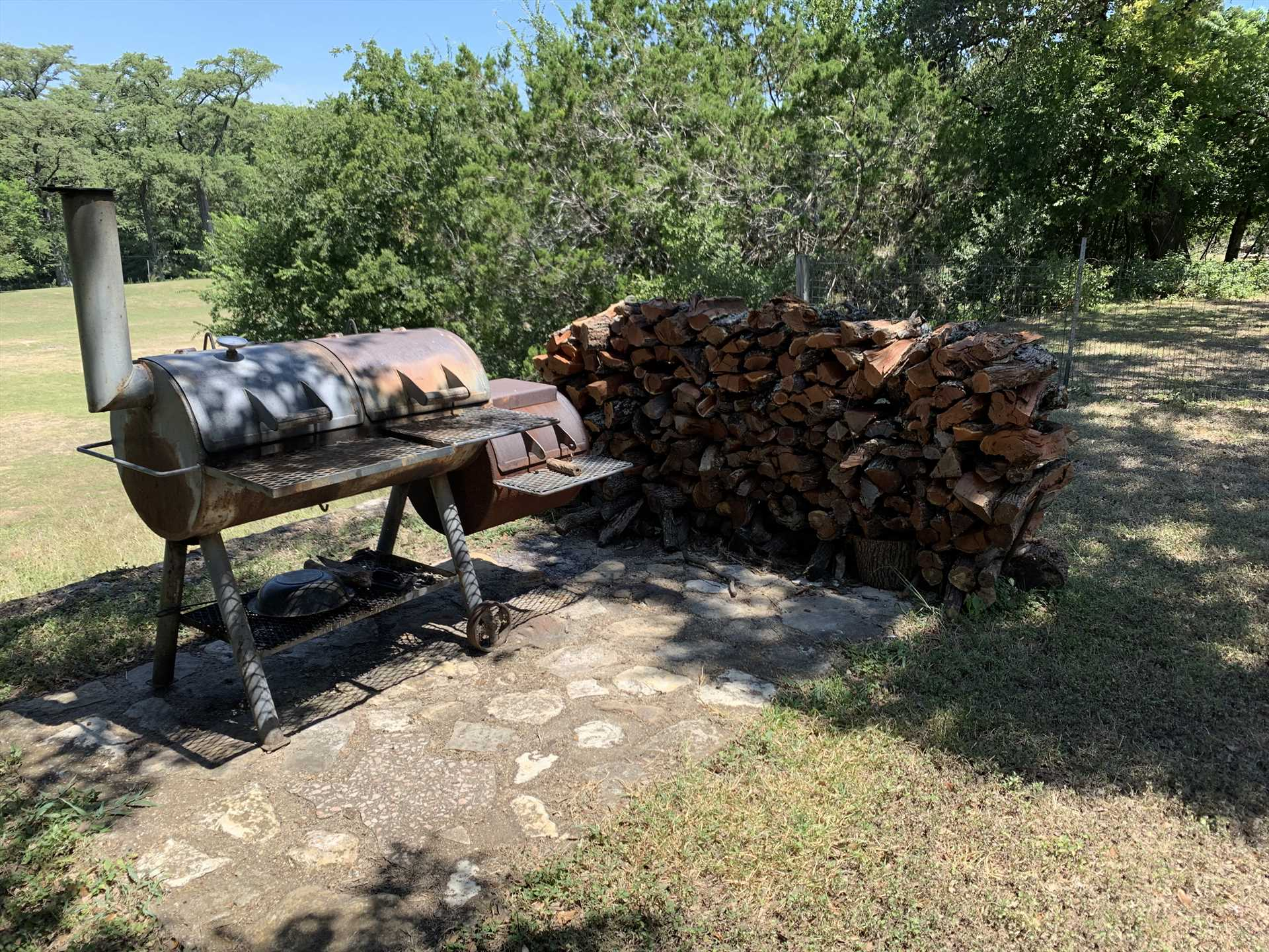 Bring along your charcoal, wood chips, and BBQ skills! It's not Texas without a hearty BBQ.