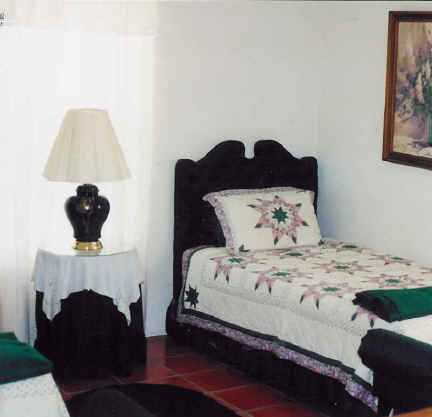Along with the queen bed in the master, two twin beds provide blissful slumber in the second bedroom, with plenty of bed and bath linens provided throughout the River House.
