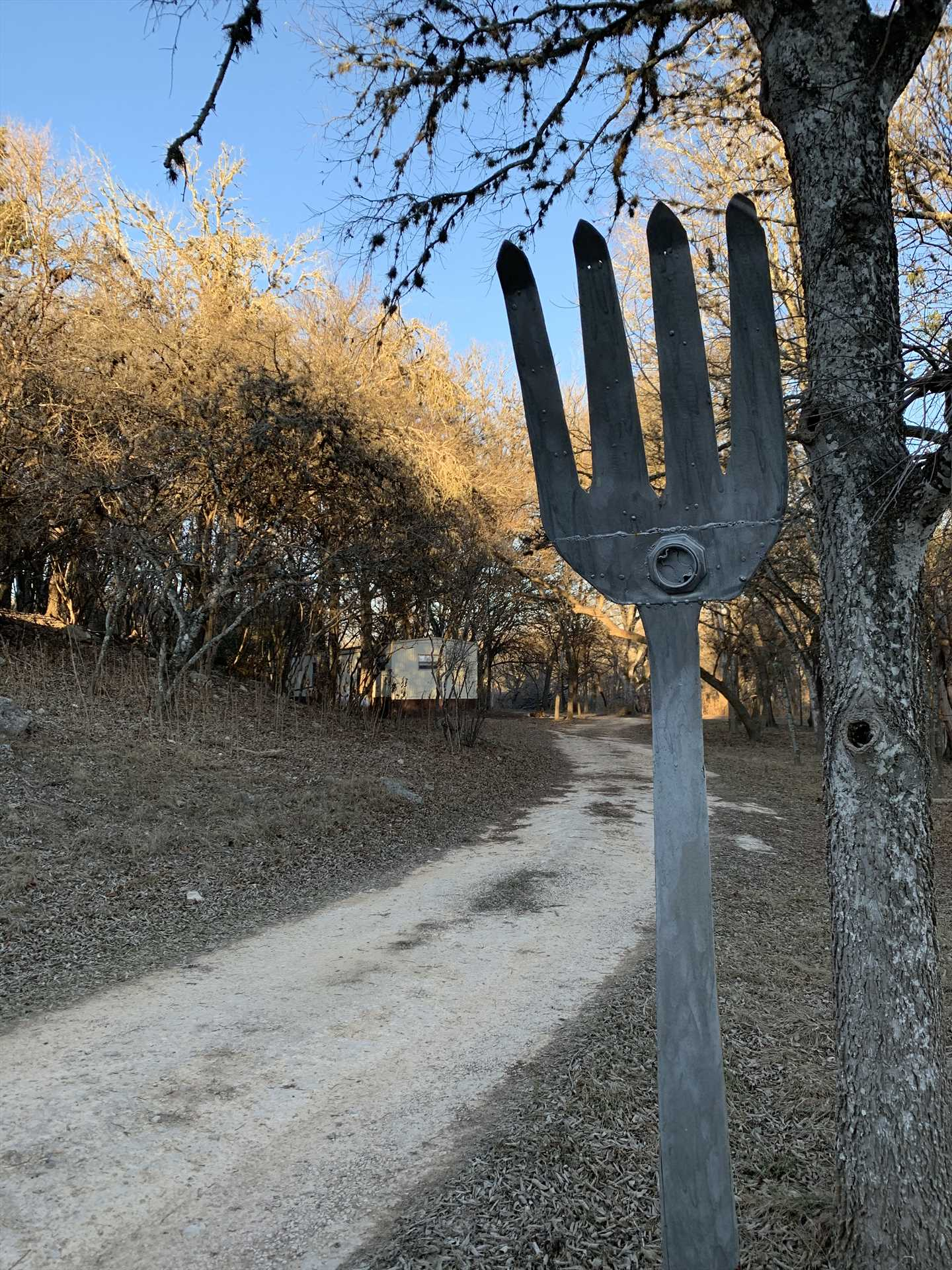 Miles of country roads (with and without forks) surround the ranch for scenic Hill Country tours!