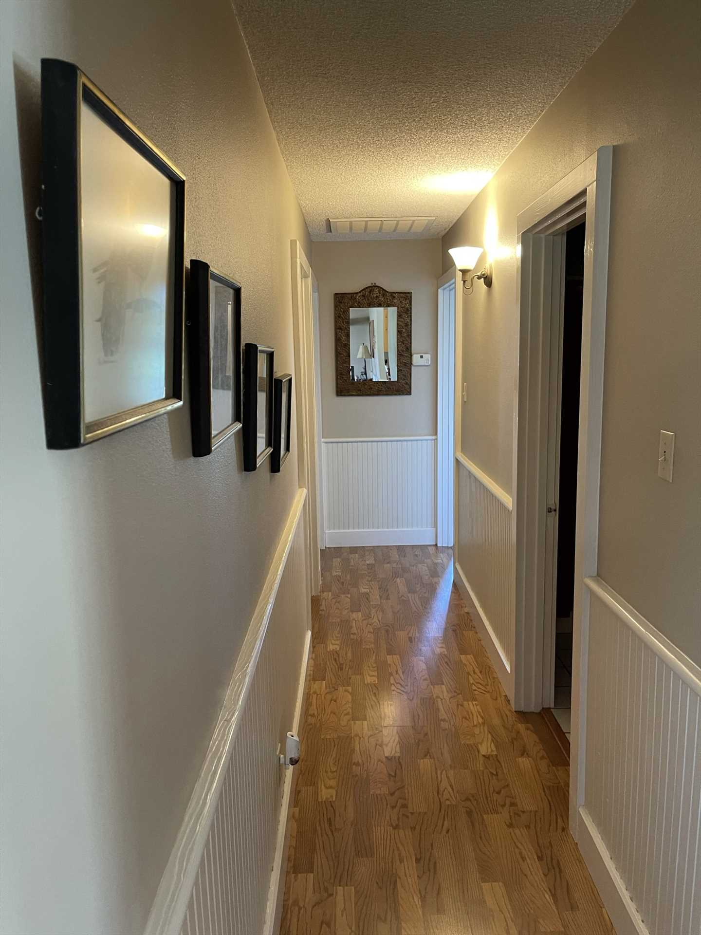 With a hallway separating the main space from the bedrooms, those seeking some private time will be able to without any inconvenience.