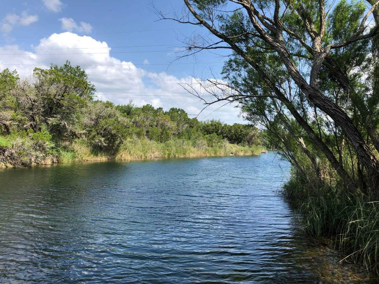 Check ahead with us about the water levels in the seasonal creek on the property. When the water's up, it's an amazing place to swim and practice catch-and-release fishing!