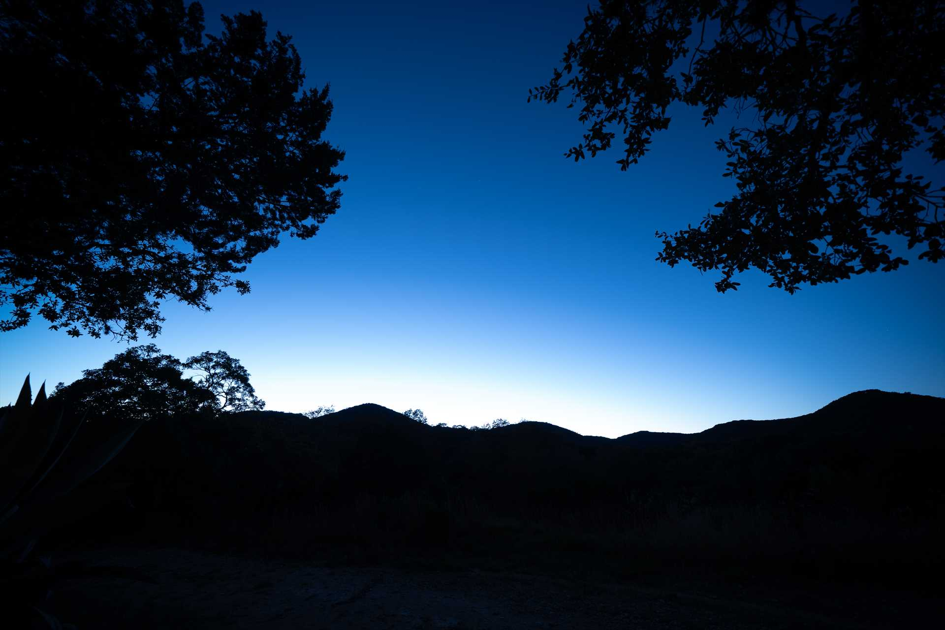 Glorious sunsets over the Hill Country mountains are followed by star-filled skies-a sky watcher's delight!