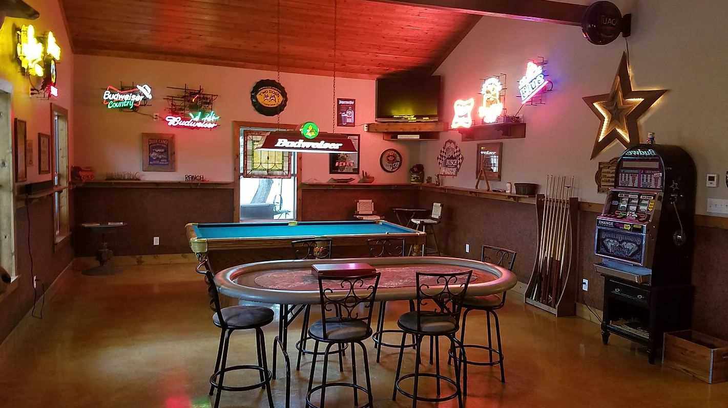 The gaming and pool tables are a big hit with kids and adults alike-and Bluff Springs is proud to be a kid-friendly location!