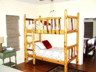 Bunk Bed in 2nd Bedroom