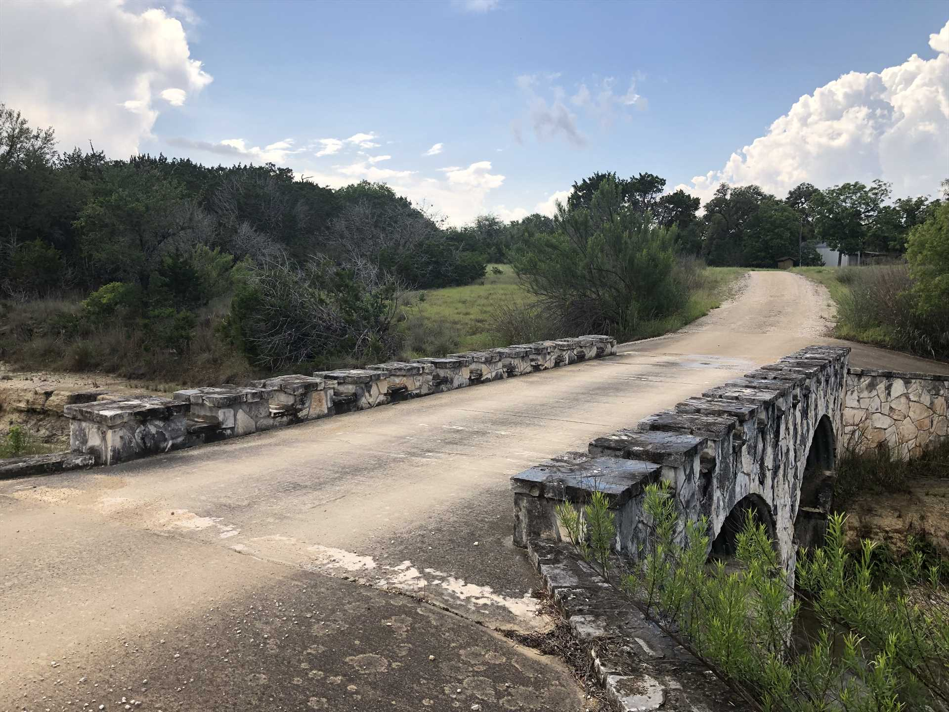 Plenty of scenic roads wind around the ranch. Set aside some time for a scenic tour of the Hill Country!