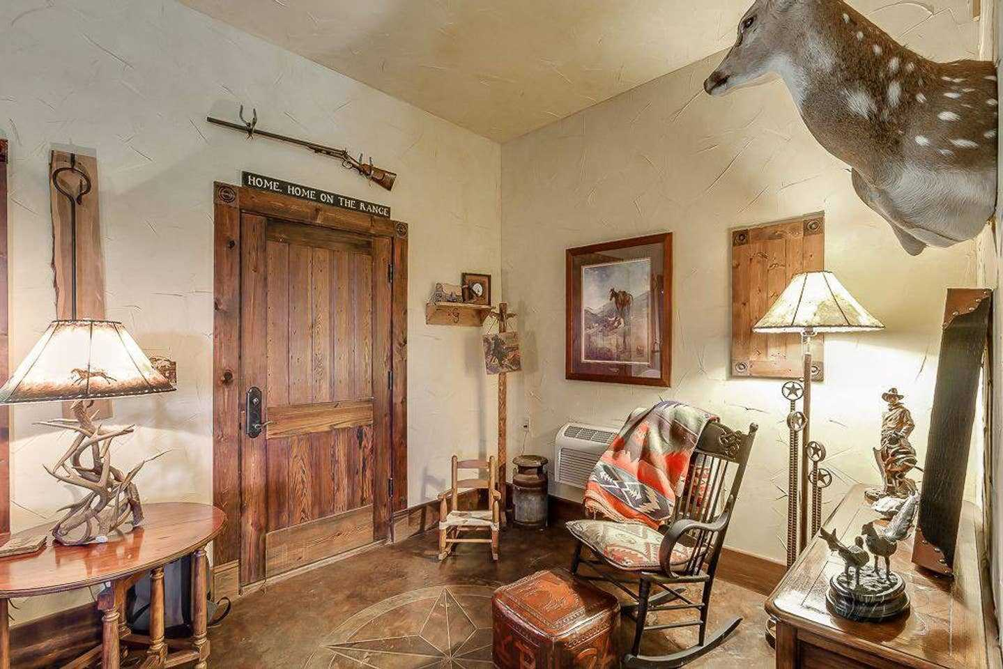Historical antiques and Lone Star State originals give the Ranch House a Hill Country personality all its own.