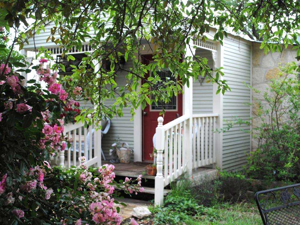 Sip your morning coffee on the intimate and coolly-shaded porch.