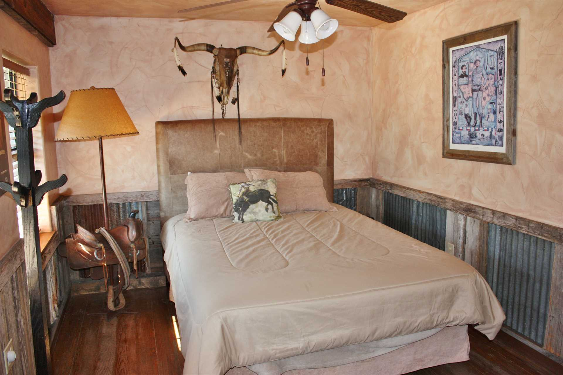 Hill Country views and warming natural light fill the interior spaces here, too!