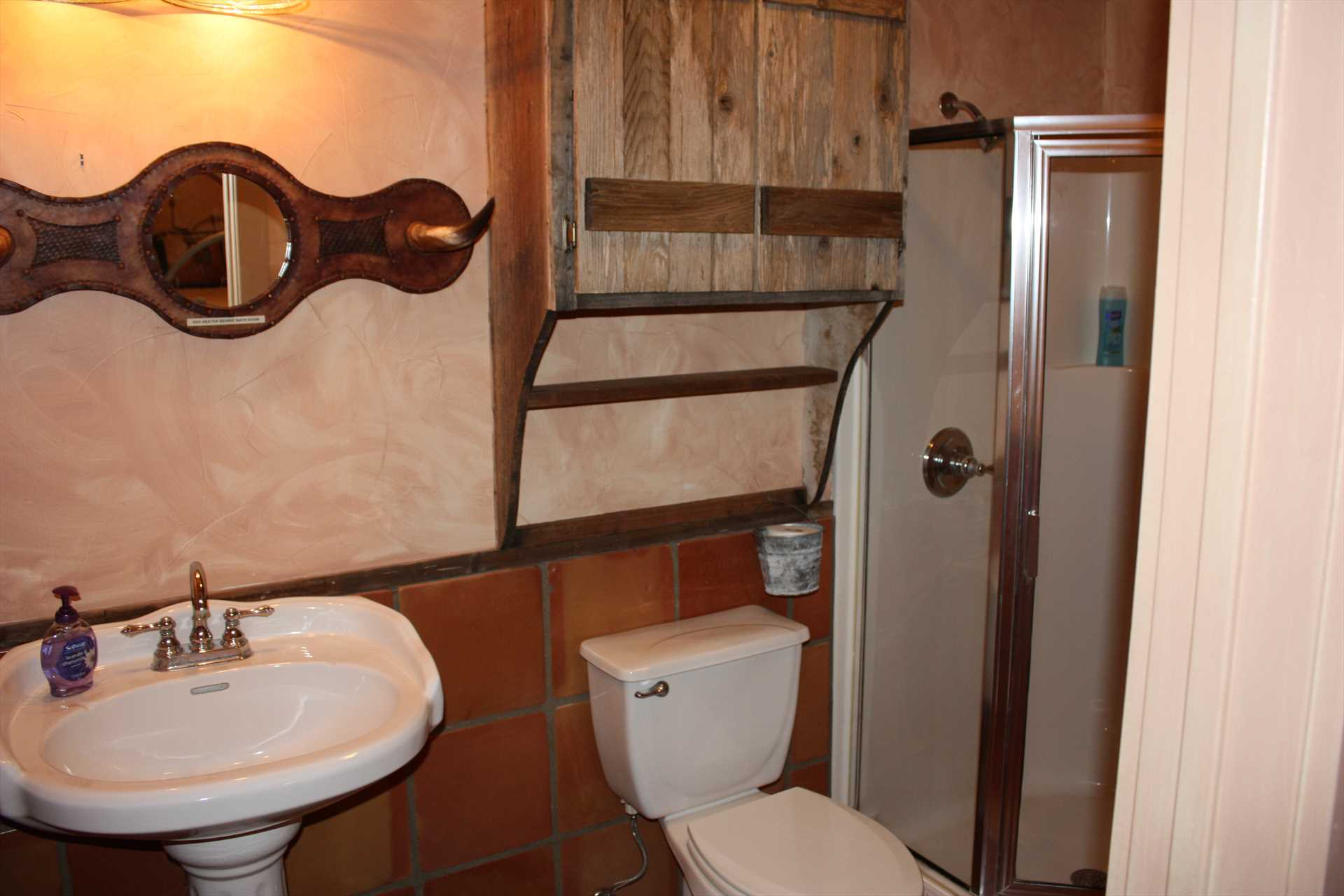 Rustic touches combine with modern conveniences at 7 Canyons Ranch!