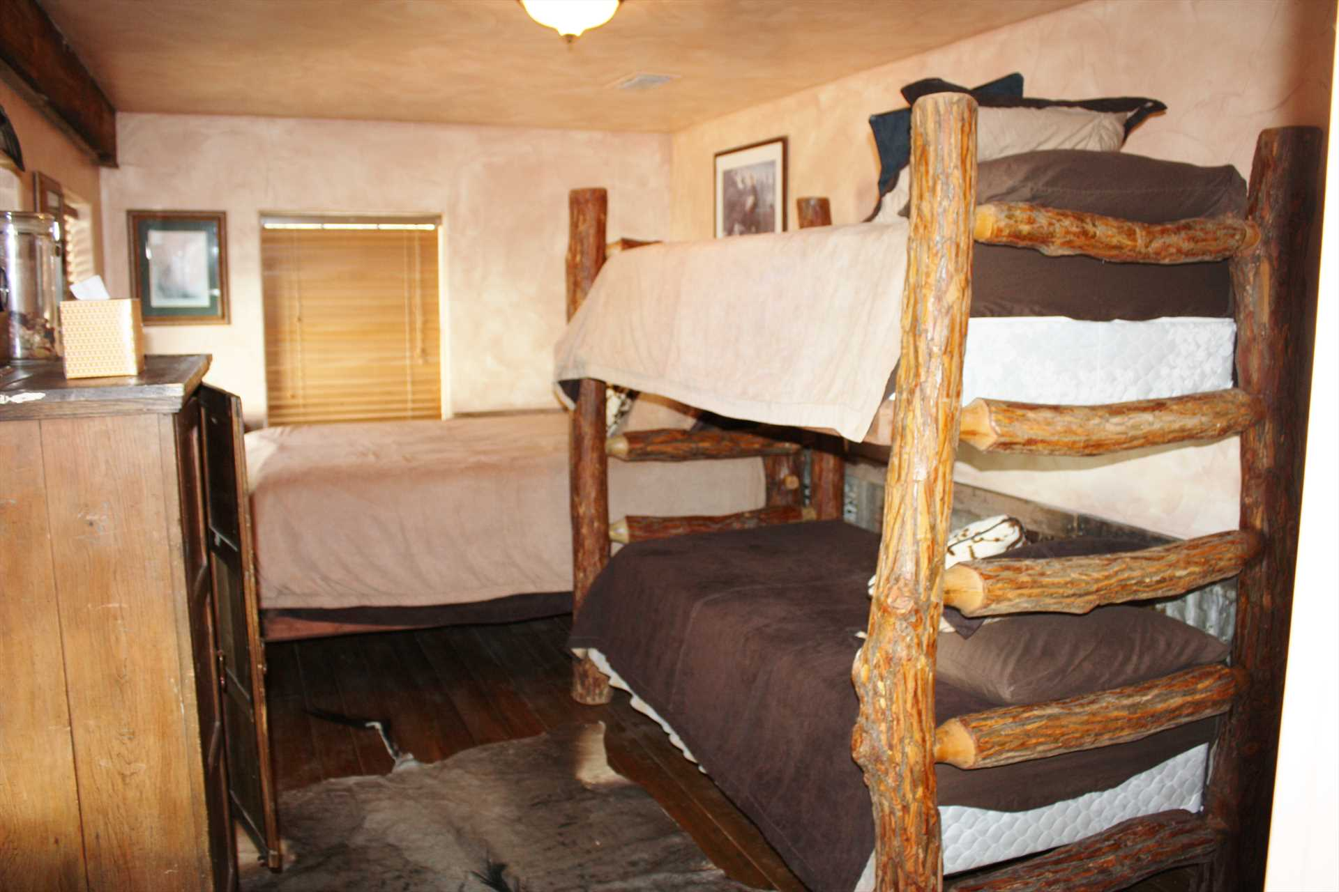 You'll just have to stay more than one night, so you can avoid the battle for the top bunk!