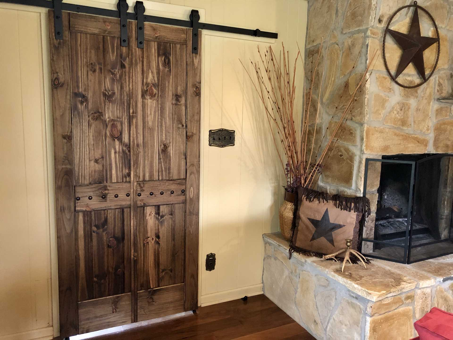 Color, texture, and decorative details were all considered when preparing this wonderful holiday home..