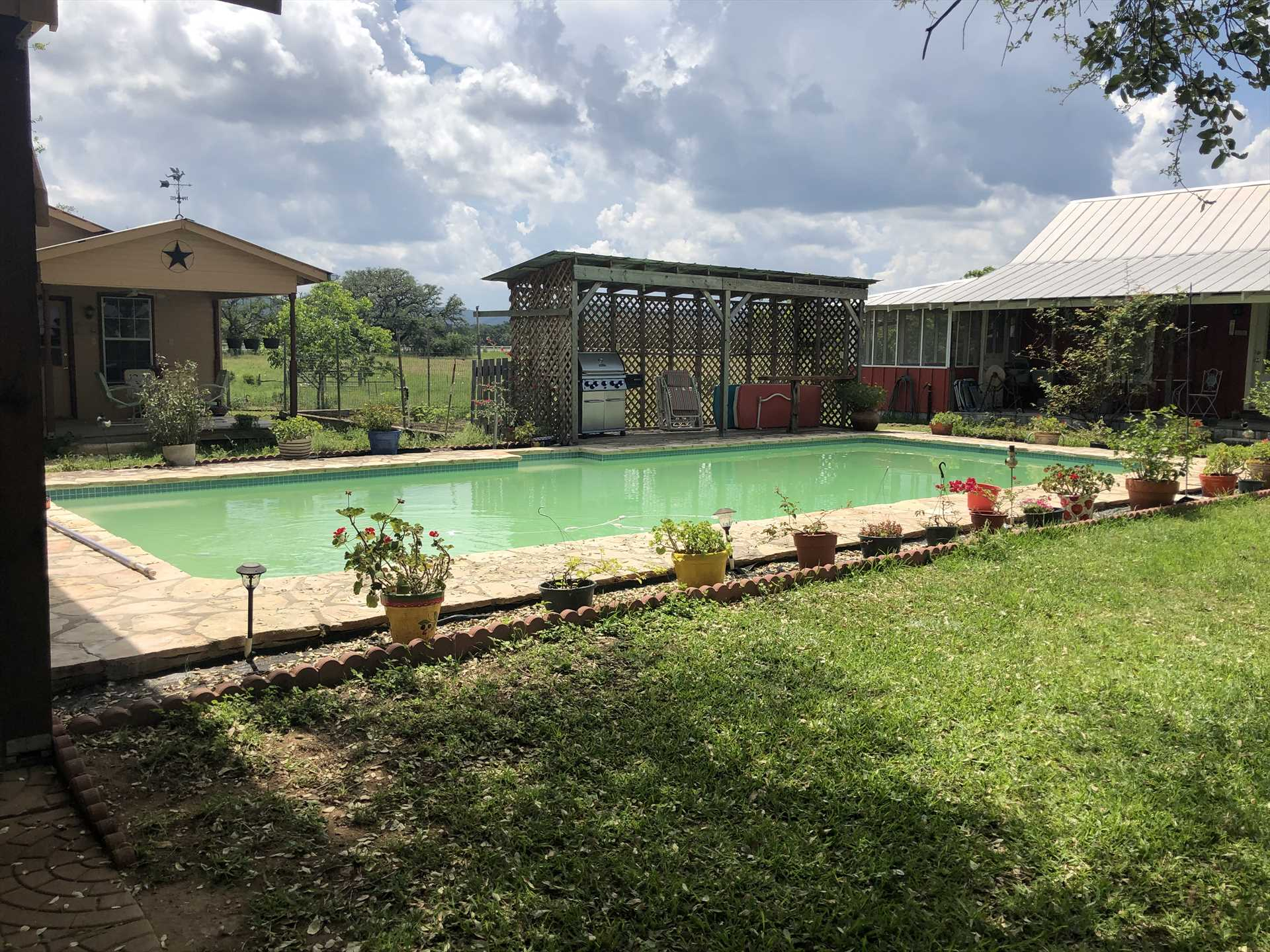 You'll have access to the swimming pool at the main house-the perfect place to take the edge off those hot Texas summers!