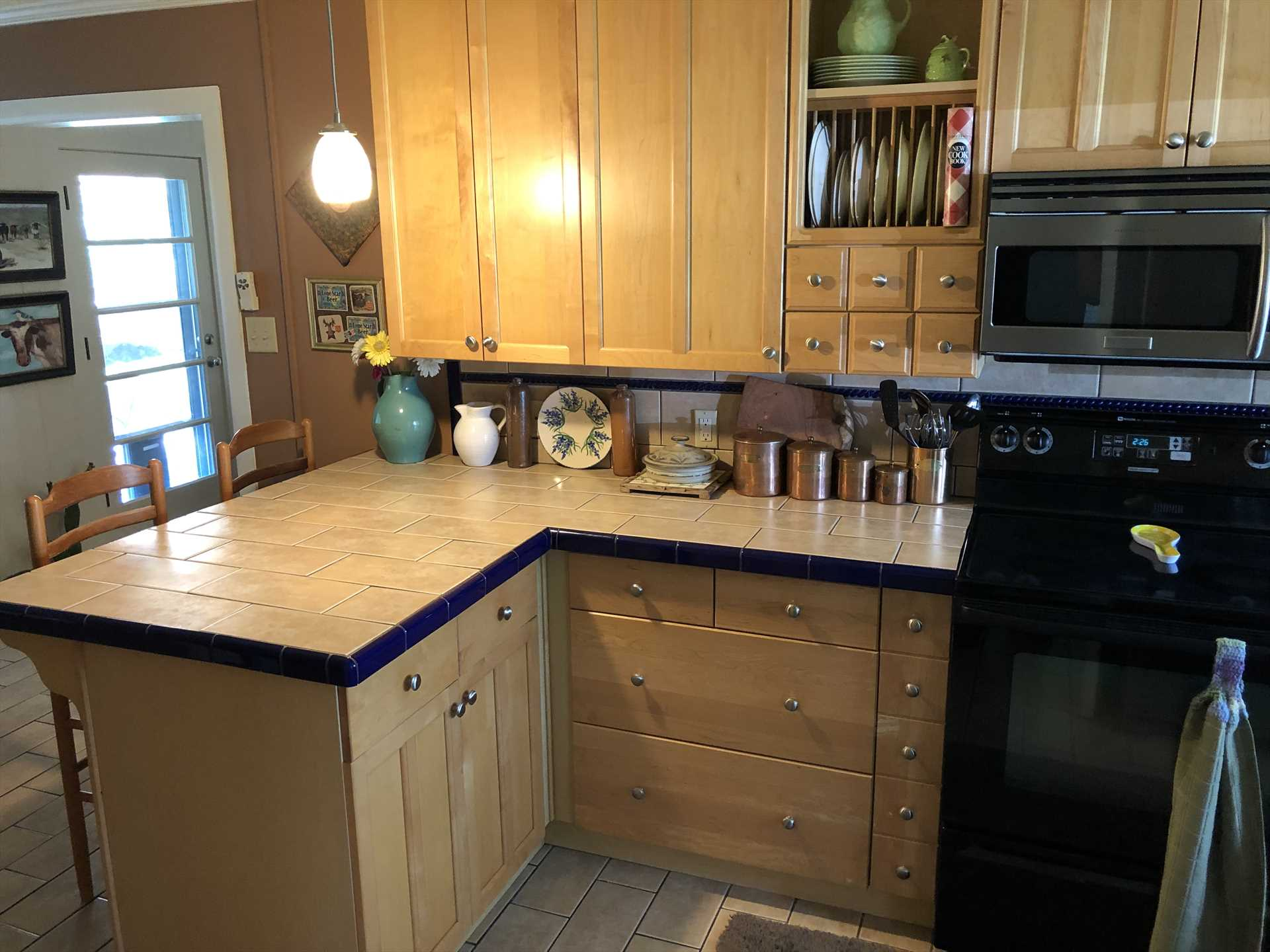 Full kitchen? Just ask our recent guest Veronica: