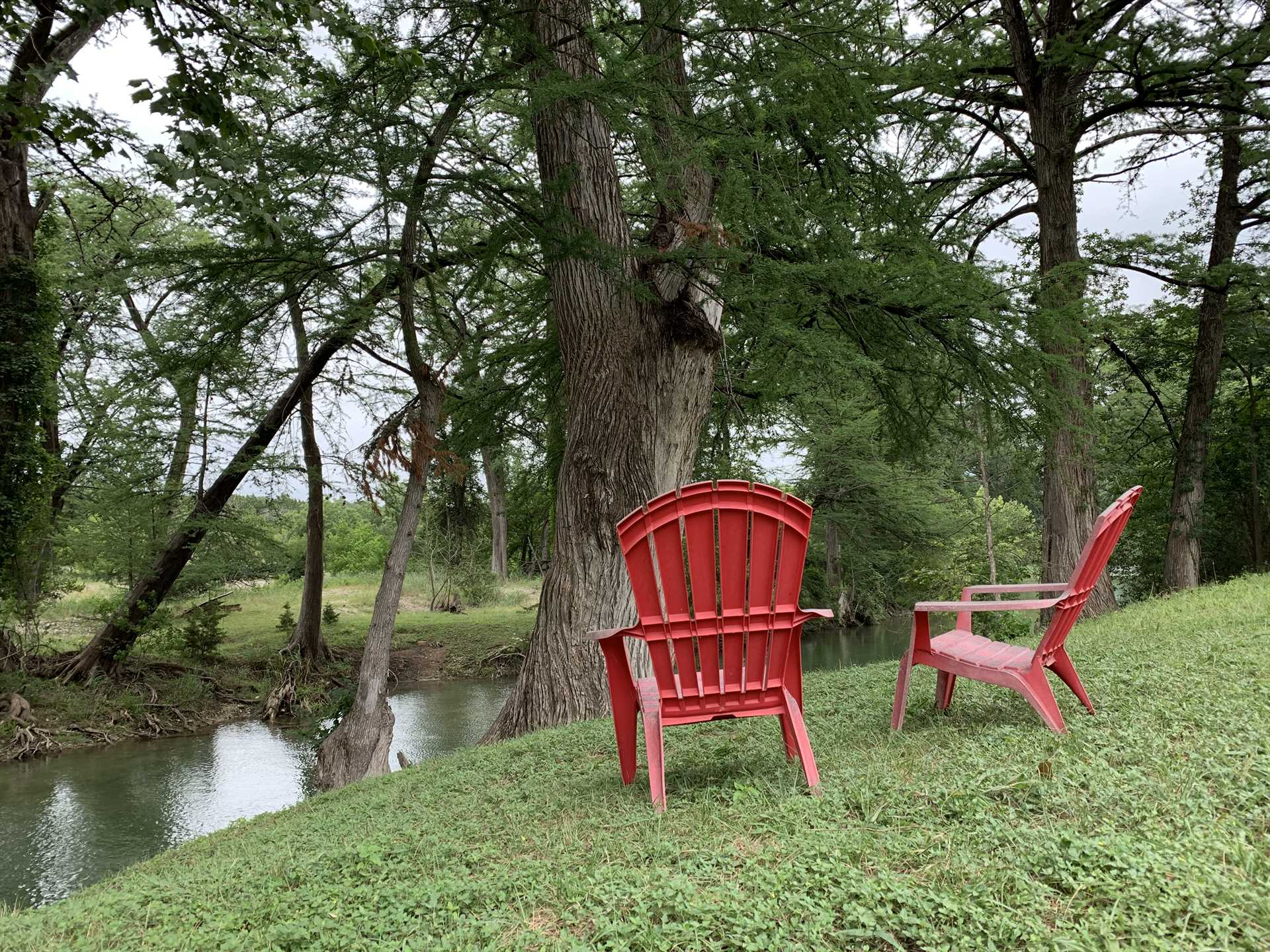 The tree-lined Medina River is just the ticket to sit back and feel your tensions melt away.