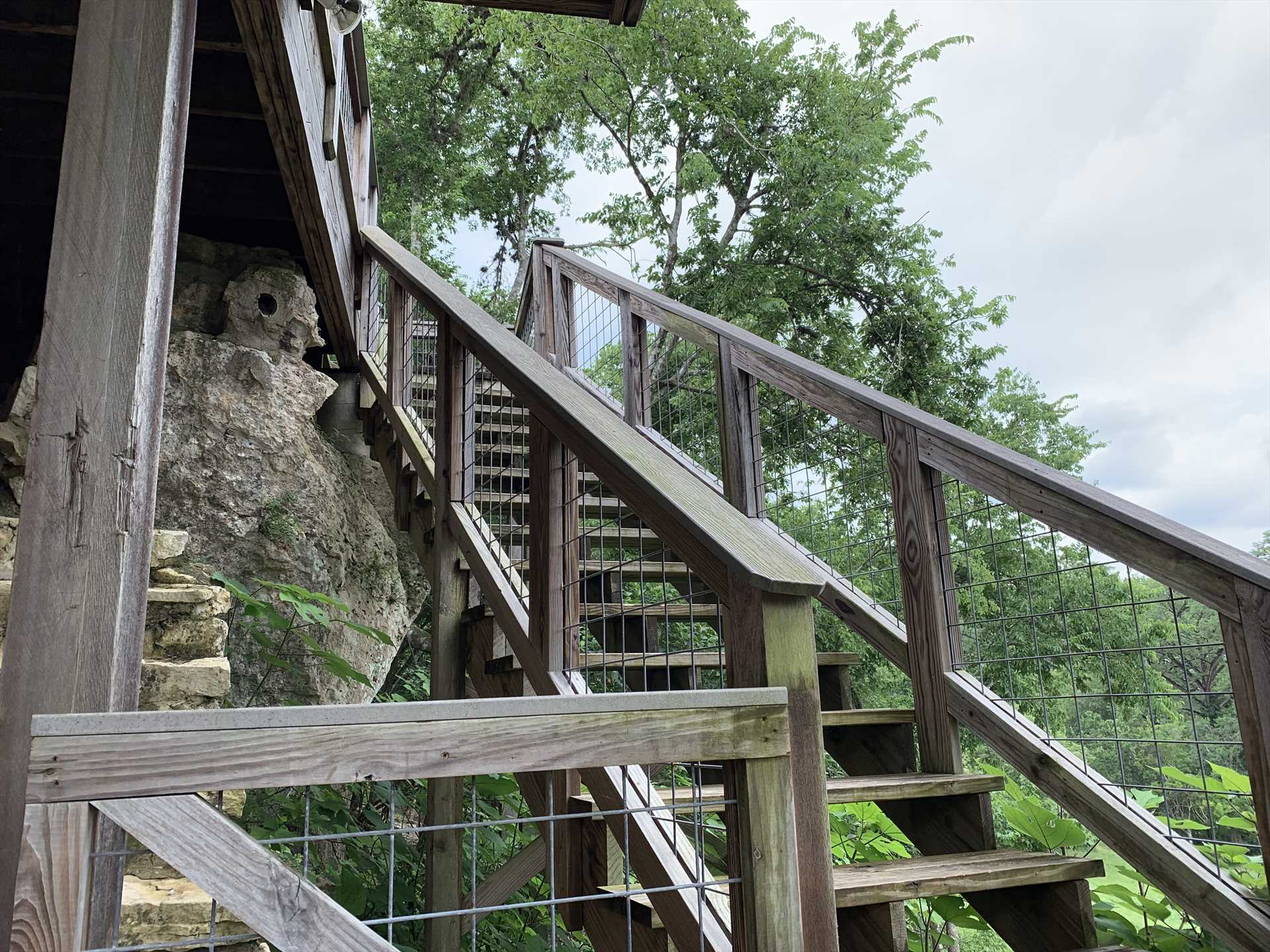 No matter where you're headed here, take a moment to admire the inspiring sights of the surrounding Hill Country.