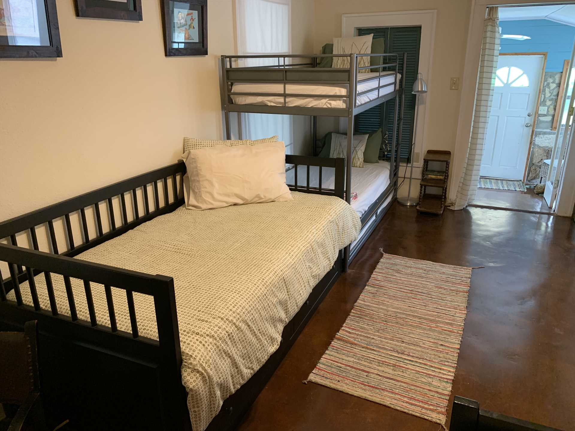 The bunk beds are a fun highlight on this kid-friendly property!