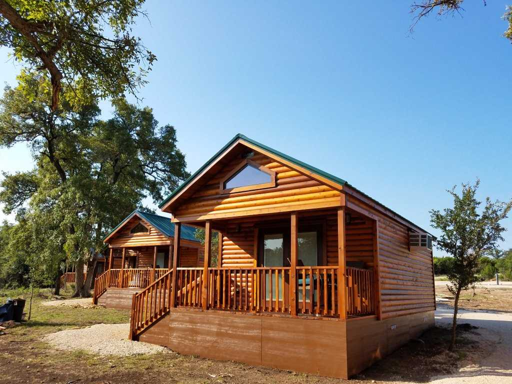 A log cabin look that's loaded with modern luxuries and extras!