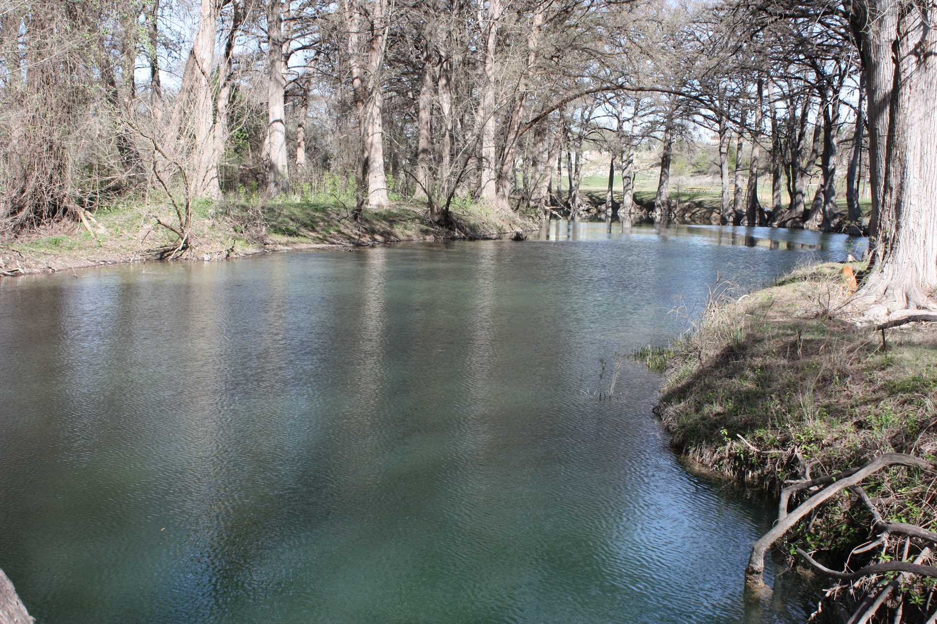 With the river in your backyard, you can fill your schedule with fishing, tubing, swimming, you name it!