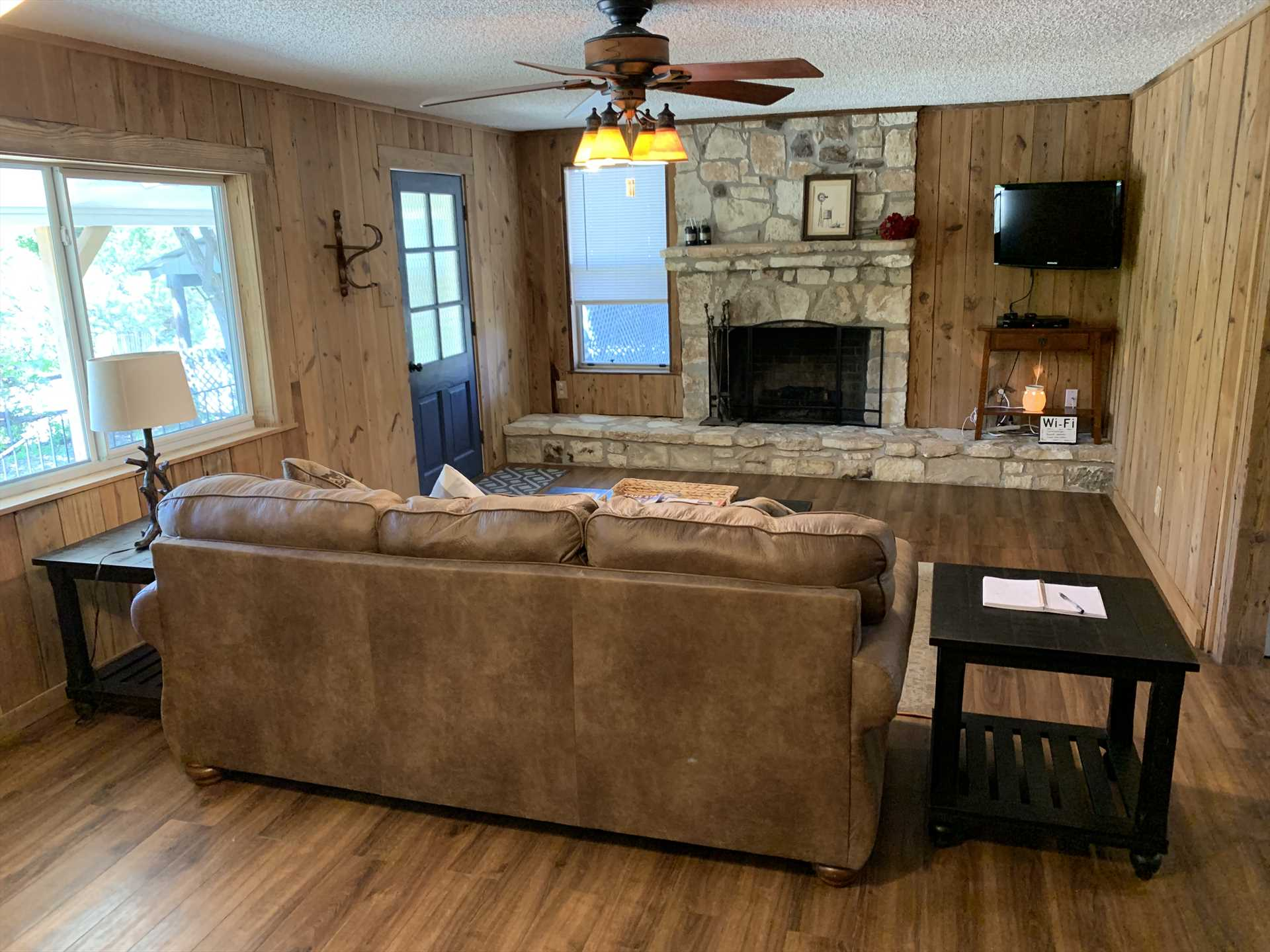 Satellite TV, high-speed Internet, and multiple AC and heating units are among the amenities included for both comfort and fun!