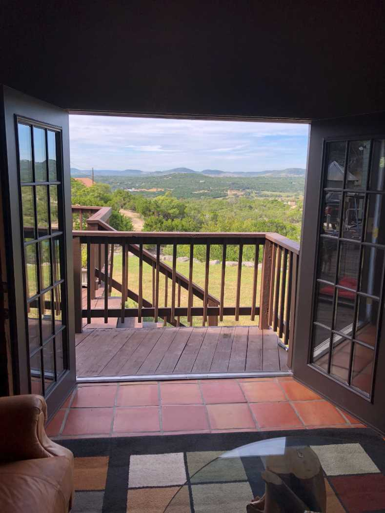 Is this the view from your living room? It will be when you visit here!