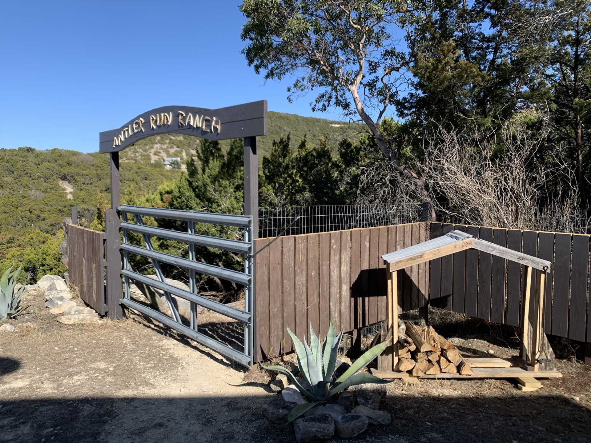 Beyond this gate, you'll find a restful, peaceful, and fun escape from the everyday grind!