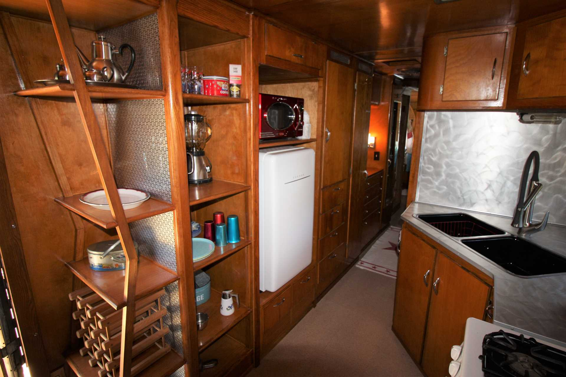 The Vintage Spartan Trailer Coach is living proof that wonderful things come in small packages!