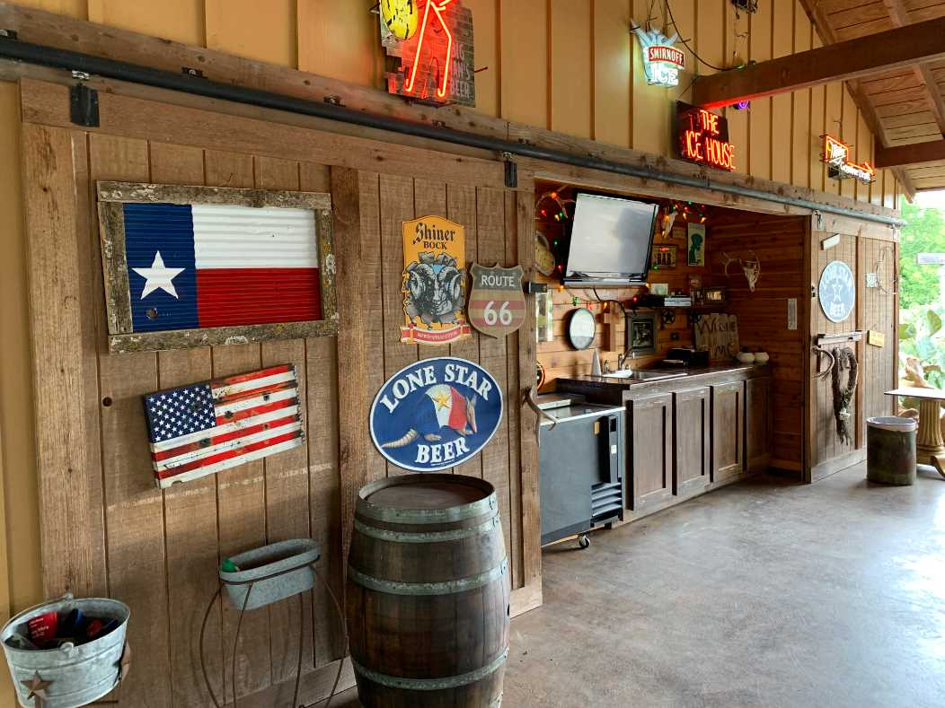 For a nominal additional fee, your crew can party at the ranch pavilion! Please ask for availability when you book.