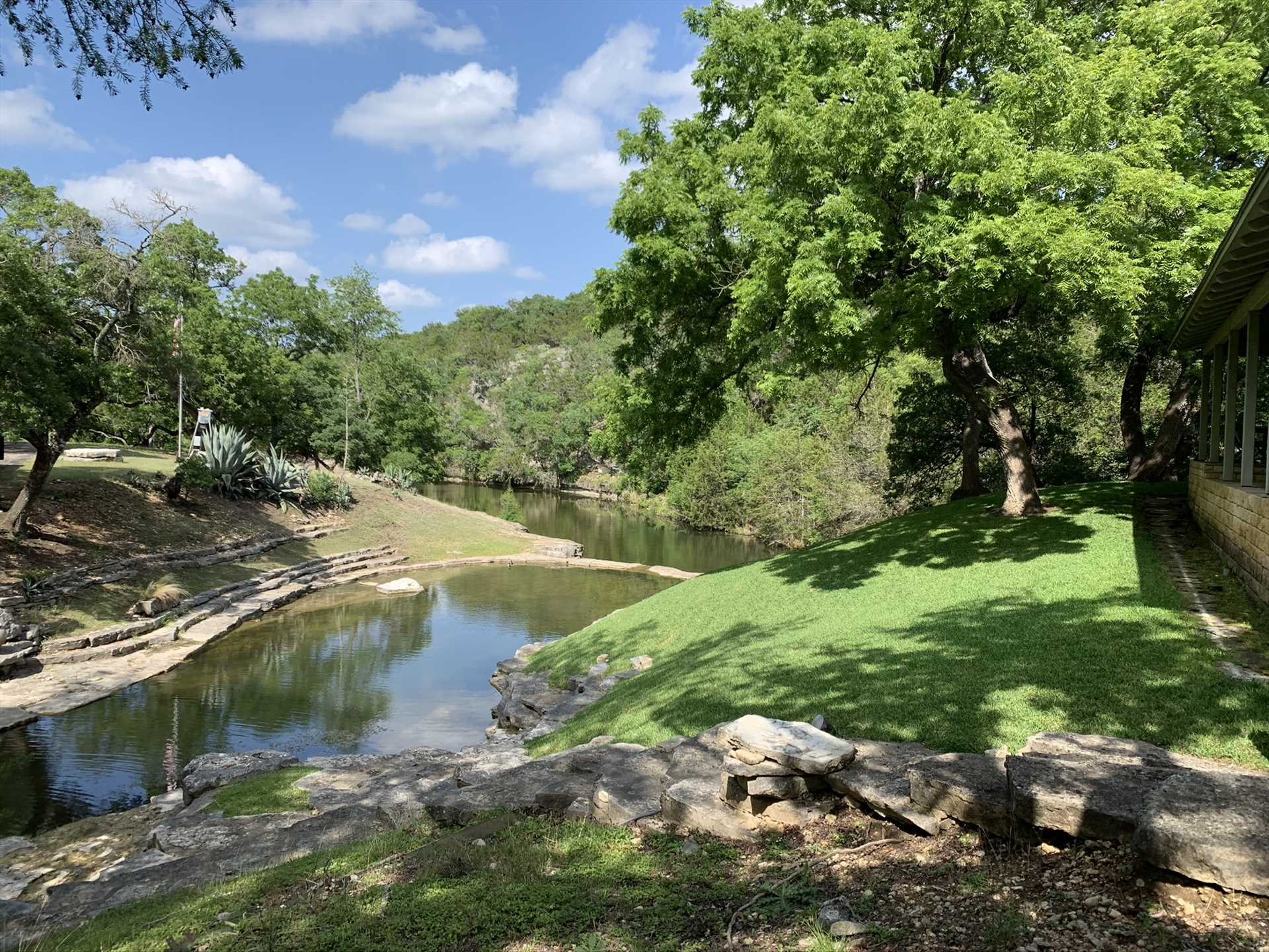 Hike, watch wildlife, and practice catch-and-release fishing along the banks of pretty Fall Creek!