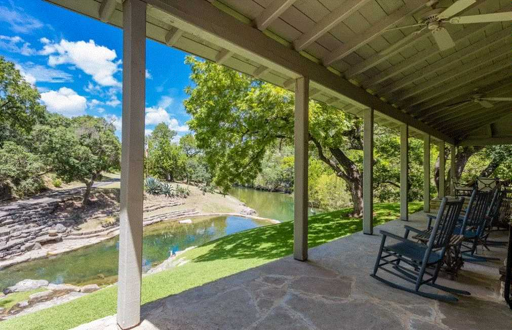 Enjoy a shady rest on the patio of the Homestead, or take advantage of the cool waters of Fall Creek, which are literally just feet away.