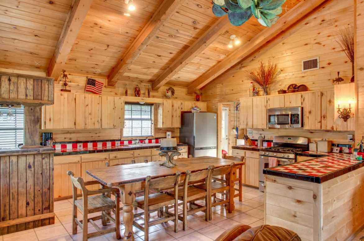 The Kitchen here at the Homestead is outfitted with regular and Krups coffee maker, range top, oven, refrigerator, microwave, toaster oven, electric skillet, air fryer, tea pot and spices.