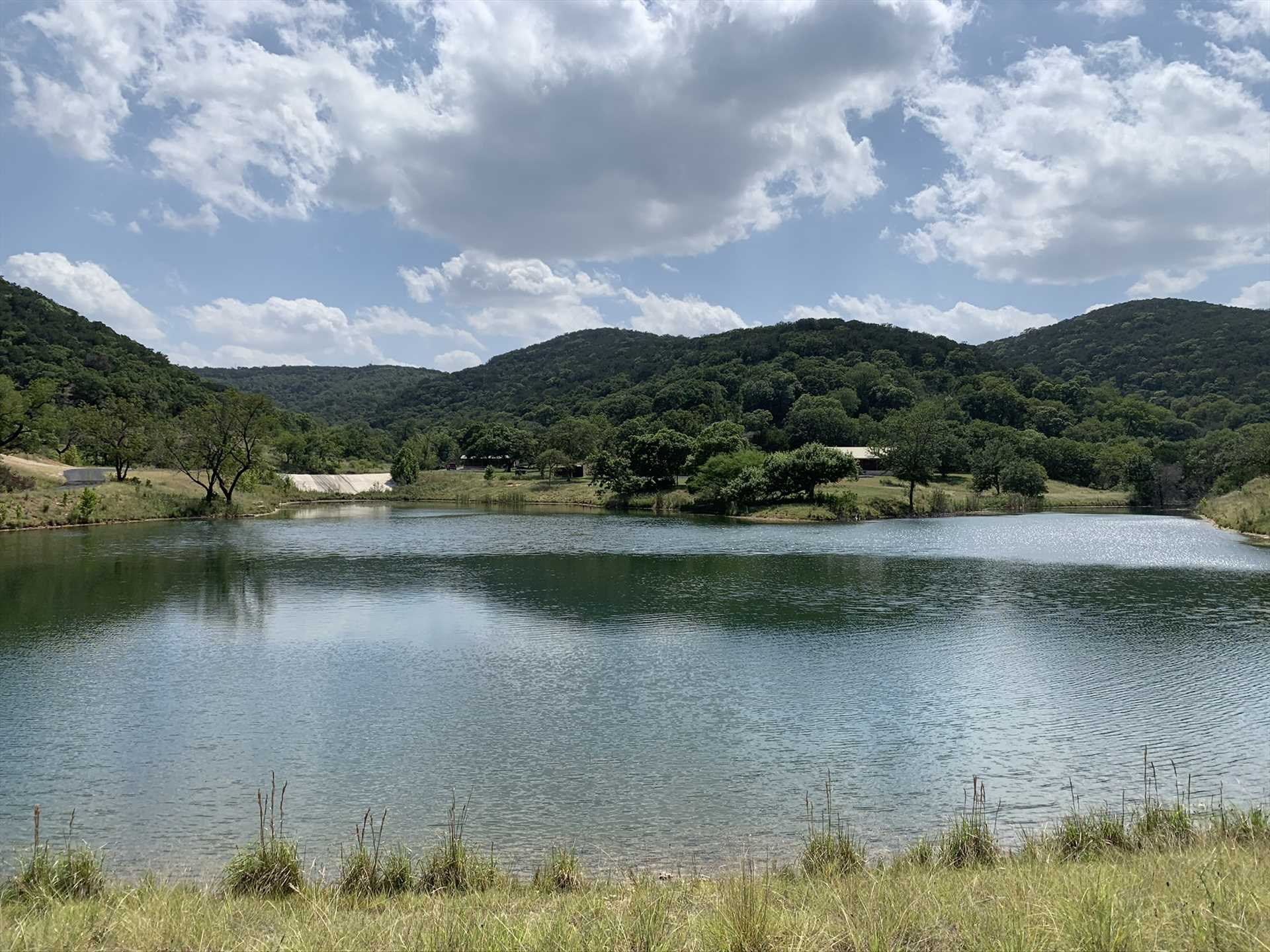 The majestic, wooded mountains of the Hill Country put on a private show for our guests-and the star-filled skies at night have to be seen to be believed!