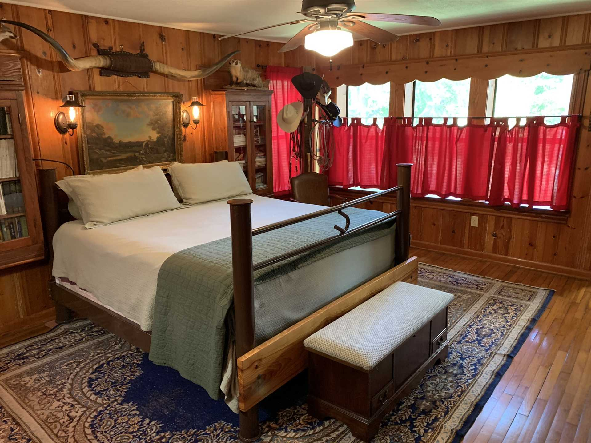 No cheap modular furniture or dime store paneling here! The Lodge has been meticulously appointed to create a serene and relaxing atmosphere.