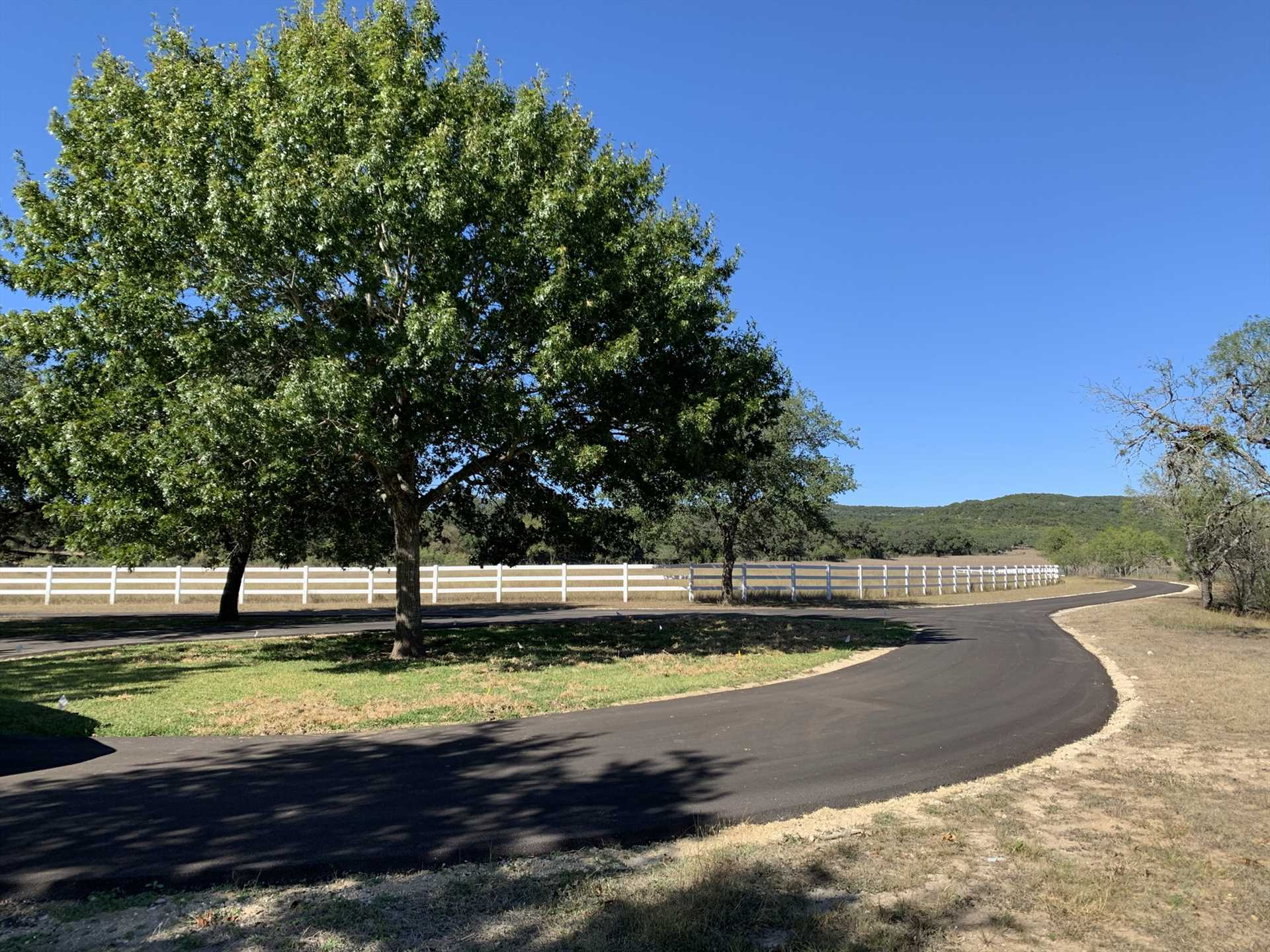 Many miles of Hill Country roads surround San Geronimo Creek, and they're perfect for a sightseeing tour of this beautiful region!