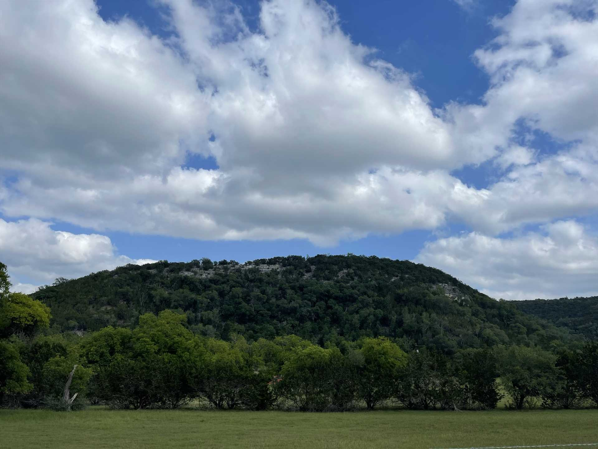 Mountains in Texas? We don't call it the Hill Country for nothing!