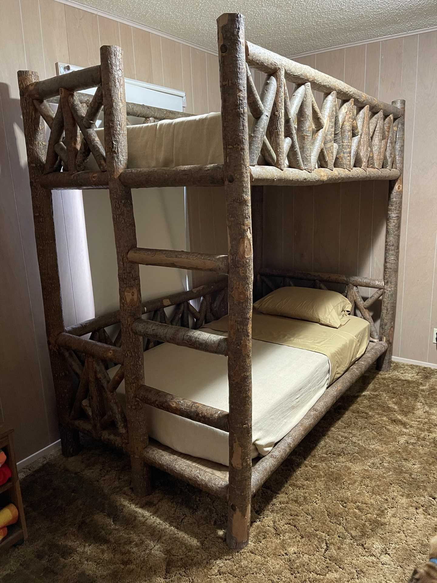 Bunk up, partner! Who gets the top bunk?