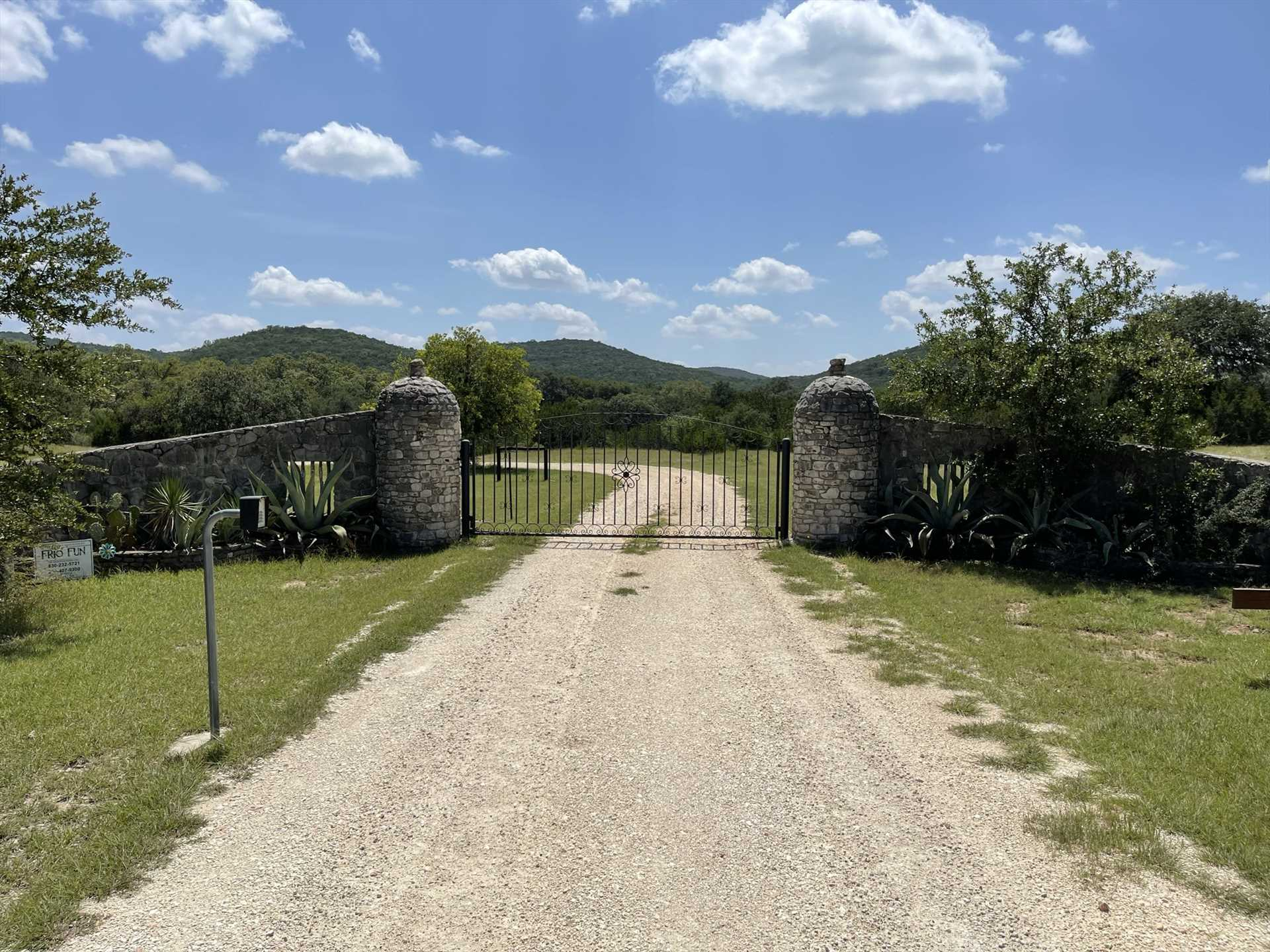 Beyond Lightning Bug Springs' 15 acres, you'll find Concan and the Frio River just down the road. The popular Garner State Park is also just 15 miles away!